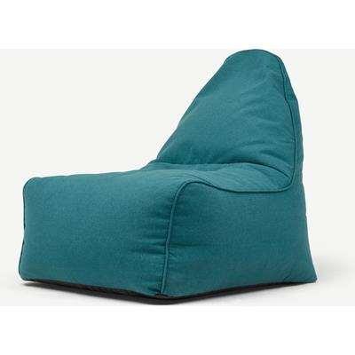 Ayra Bean Bag Chair, Mineral Blue