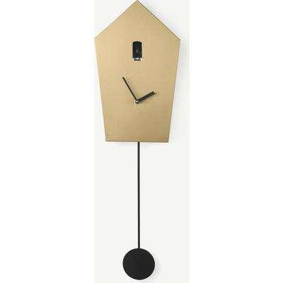 Aza Metallic Cuckoo Clock, Brass