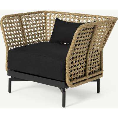 Balawa Garden Armchair, Natural & Grey