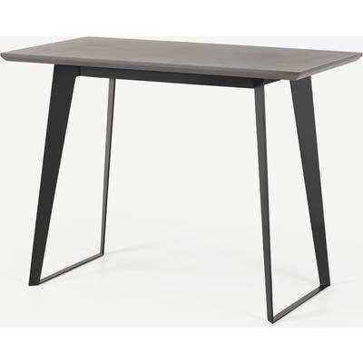 Boone Bar Table, Grey Concrete Resin Top