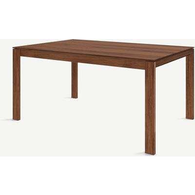 Corinna 6 Seat Dining Table, Walnut