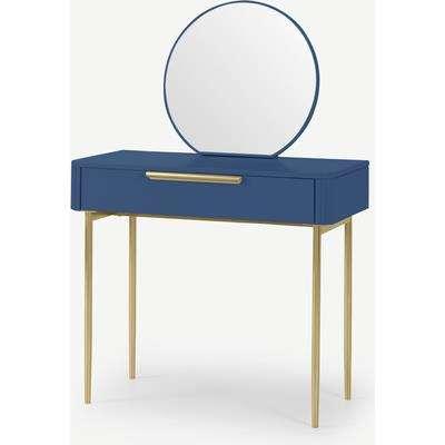 Ebro Dressing Table, Blue