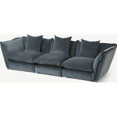Fernsby 3 Seater Sofa, Atlantic Chenille Fabric