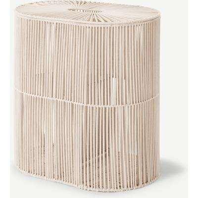 Holgate Double Laundry Basket, Off White