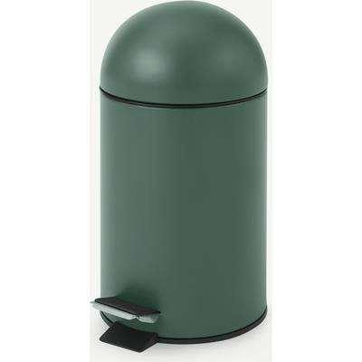 Joss 3L Pedal Bin, Dark Green