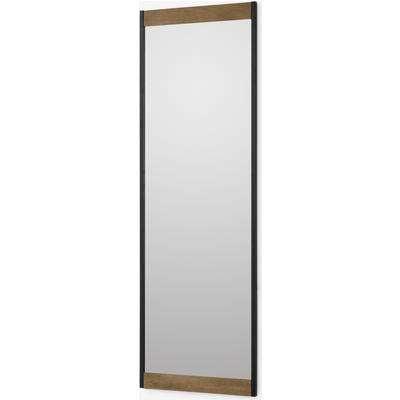 Maxine Full Length Mirror, 40 x 120cm, Mango Wood & Black