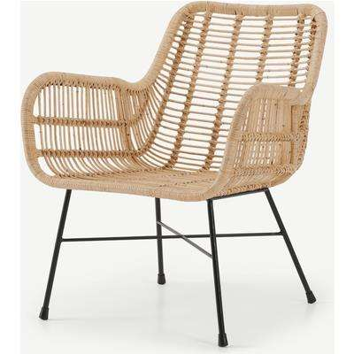 Moby Accent Armchair, Cane