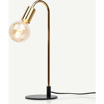 Octavia Table Lamp, Brass