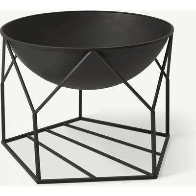 Outdoor Fire Pit, Black