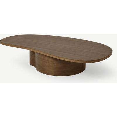 Sharma Organic Coffee Table, Oak Finish