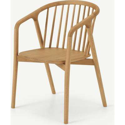 Tacoma Carver Dining Chair, Oak