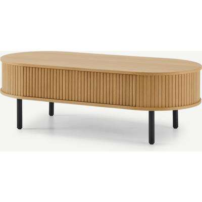 Tambo Storage Coffee Table, Oak