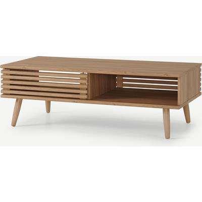 Tulma Storage Coffee Table, Oak Effect