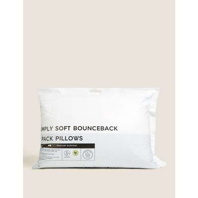 2 Pack Simply Soft Pillows white