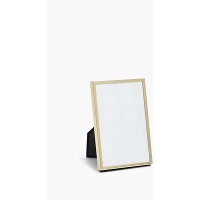 Slim Metal Photo Frame 4x6 inch yellow