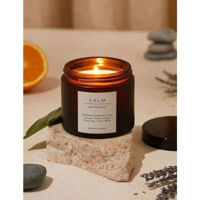Calm Scented Candle yellow