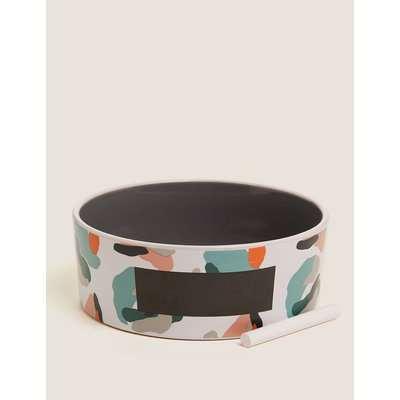 Ceramic Pet Bowl multi-coloured