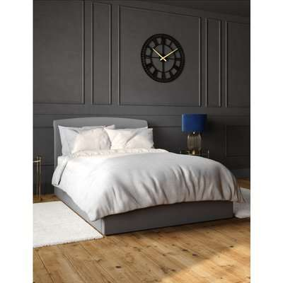 Cleo Ottoman Storage Bed grey