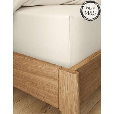 Comfortably Cool Extra Deep Fitted Sheet cream