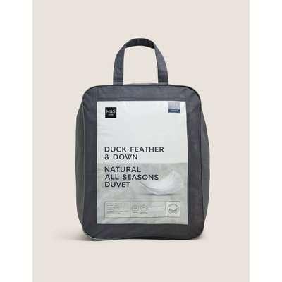 Duck Feather & Down 13.5 Tog All Season Duvet white