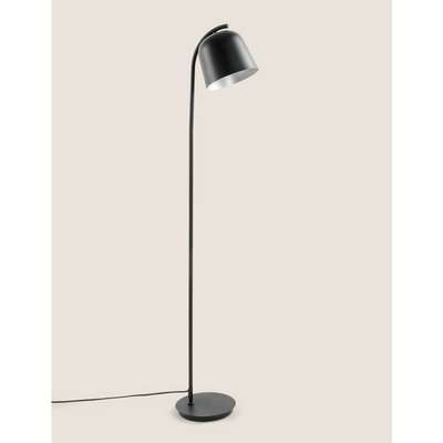 Finn Scandi Metal Floor Lamp black