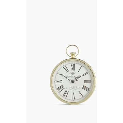 Fob Mantel Clock yellow