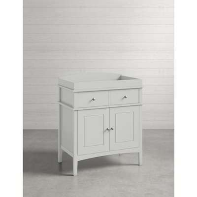 Hastings Grey Changing Table grey