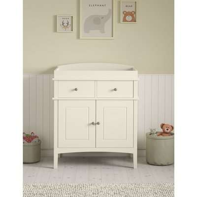 Hastings Ivory Changing Table white