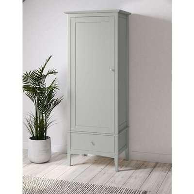 Hastings Single Wardrobe grey