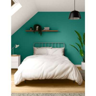 Contemporary Bed grey