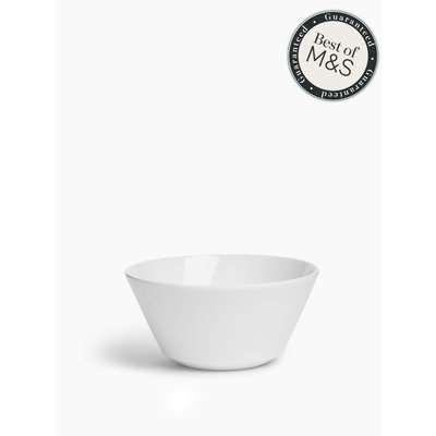 Maxim Flare Cereal Bowl white