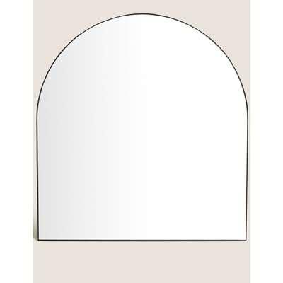 Milan Large Arch Wall Mirror black