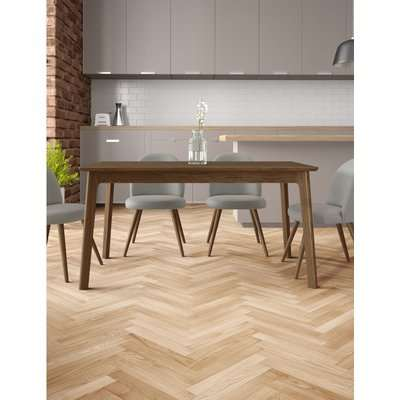 Nord Extending Dining Table brown