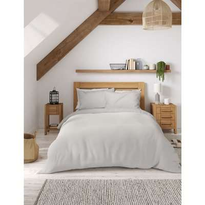Percale 300 Thread Count Duvet Cover grey