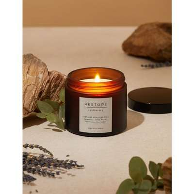 Restore Scented Candle yellow