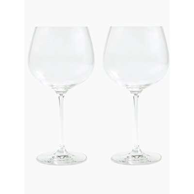 Set of 2 Gin Glasses beige