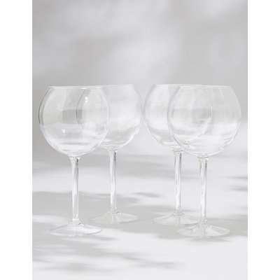 Set of 4 Picnic Gin Glasses beige