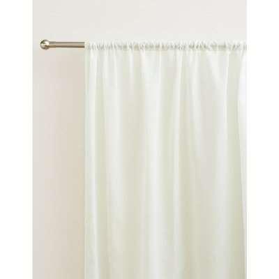 Sheer Voile Panel white