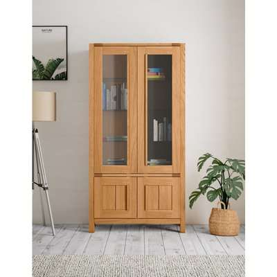 Sonoma™ Display Cabinet brown