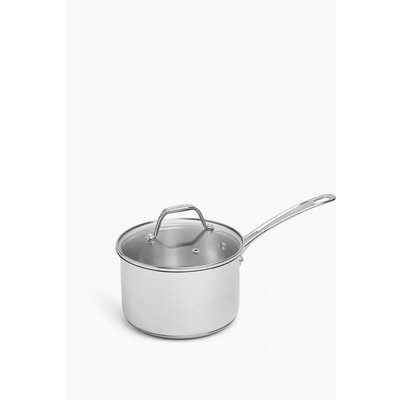 Stainless Steel 20cm Small Non-Stick Frying Pan silver
