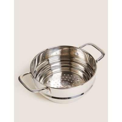 Universal Stainless Steel Steamer silver