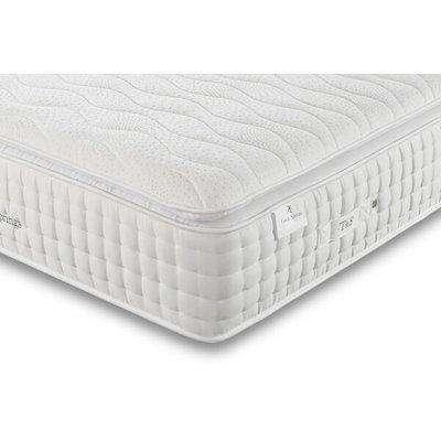 Tuft & Springs Luxuria 1000 Pocket Memory Pillow Top Mattress, European Small Single