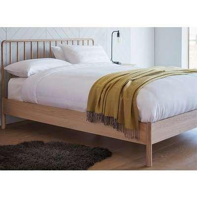 """Frank Hudson Living Wycombe Spindle Bed Frame - Super King (6' x 6'6"""")"""