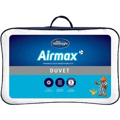 "Silentnight Airmax 105 Tog Duvet - Super King (6' x 6'6"")"