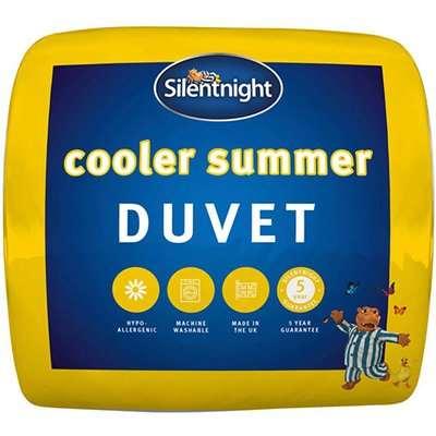 "Silentnight Cooler Summer 45 Tog Duvet - Double (4'6"" x 6'3"")"