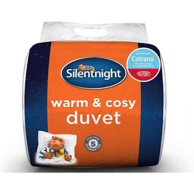 "Silentnight Warm  Cosy 135 Tog Duvet - King Size (5' x 6'6"")"