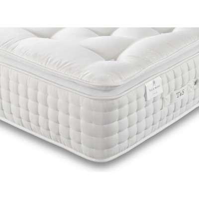 Tuft  Springs Chantilly 3000 Pocket Natural Pillow Top Mattress - European Small Single (80cm x 200cm)