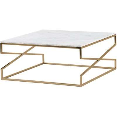 Alhambra Brass Coffee Table