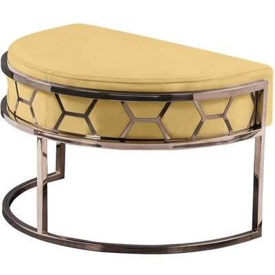 Alveare Footstool Copper - Ochre