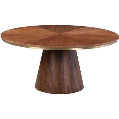 Brewster 6-8 Seat Walnut Dining Table